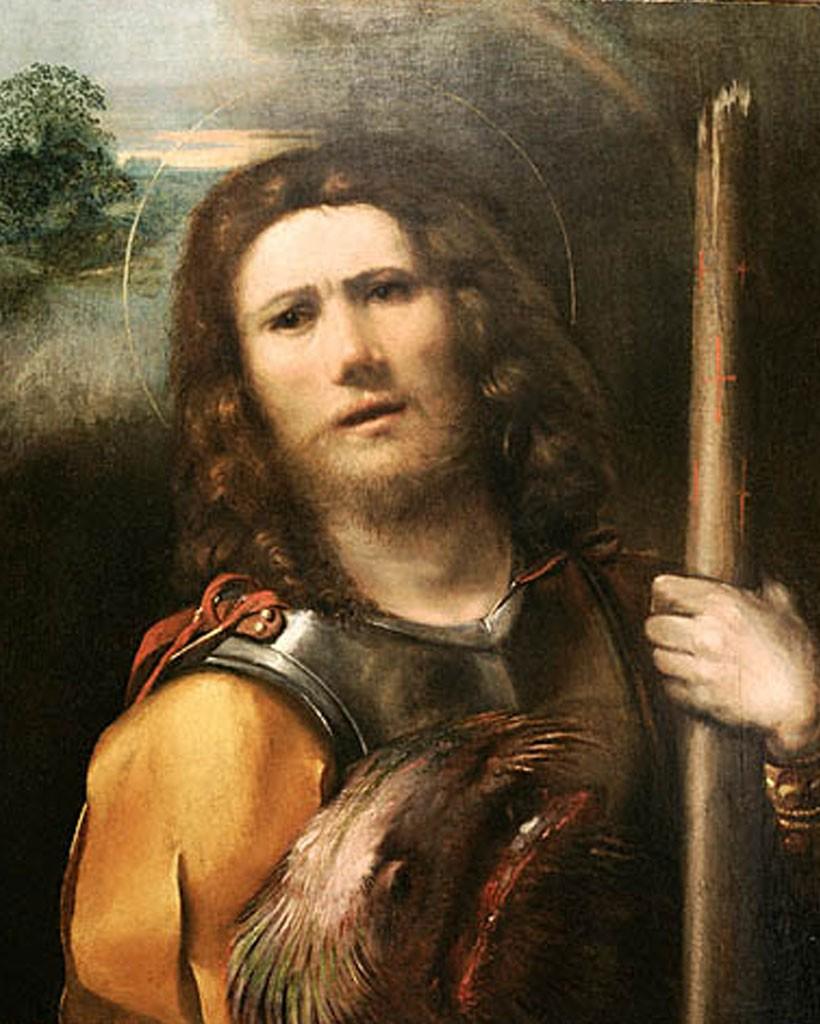 Fig. 12, Dosso Dossi, San Giorgio, 1513 - 1515, Los Angeles, J. Paul Getty Museum