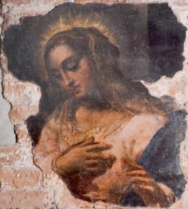 Fig. 2, Ippolito Scarsella detto lo Scarsellino, Madonna annunciata, 1604-07, Ferrara, Palazzo Arcivescovile
