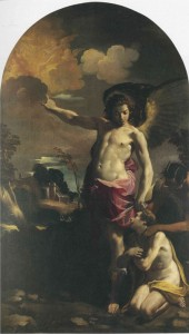 Fig. 20, Carlo Bononi, Angelo custode, 1625-30, Bologna, Pinacoteca Nazionale