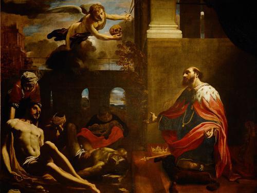 Fig. 21, Carlo Bononi, San Ludovico scongiura la peste, 1632, Vienna, Kunsthistorisches Museum