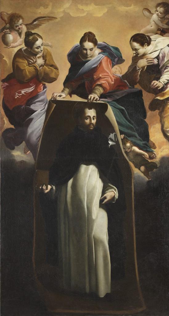 Fig. 10, Carlo Bononi, Miracolo di Soriano, 1620 ca., Ferrara, San Domenico, quinto altare a destra (in deposito presso Palazzo Arcivescovile)