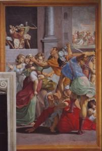 Fig. 12, Lucio Massari, Strage degli innocenti, 1612-13, Firenze, Certosa del Galluzzo