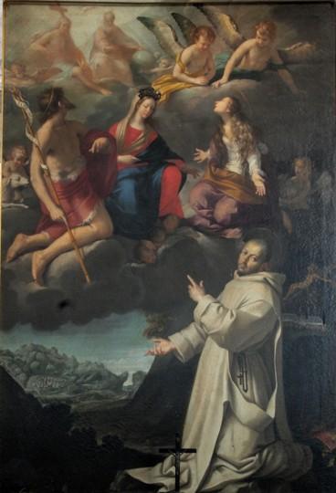 Fig. 23, Antonio Randa, Visione di San Bruno, 1639, Firenze, Certosa del Galluzzo