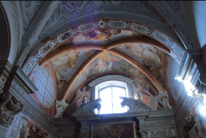 Fig. 24, Antonio Randa, decorazione della cappella di San Bruno, 1638, Firenze, Certosa del Galluzzo