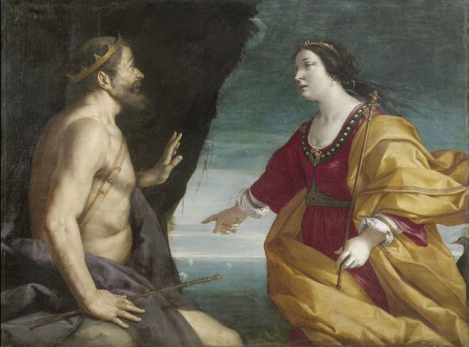 Fig., 27, Antonio Randa, Giunone che supplica Eolo, 1640, New York, collezione privata