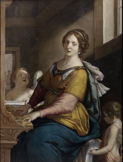 Fig. 29, Antonio Randa, Santa Cecilia, 1637, collezione privata (già Rovigo, palazzo Redetti)