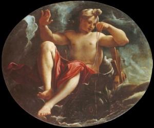 Fig. 3, Ludovico Carracci, Galatea (o Salacia), 1592 circa, Modena, Galleria Estense