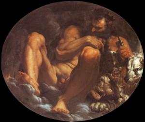 Fig. 4, Agostino Carracci, Plutone, 1592 circa, Modena, Galleria Estense