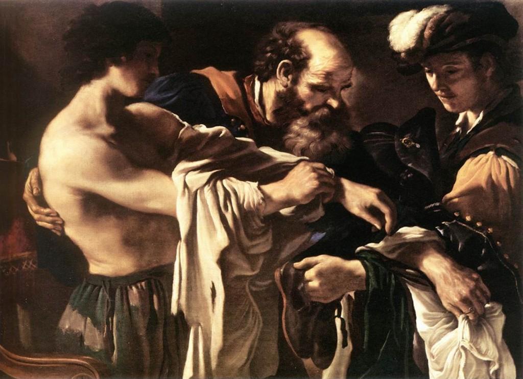 Fig. 8, Giovanni Francesco Barbieri detto Guercino, Il ritorno del figliol prodigo, 1619, Vienna, Kunsthistorisches Museum