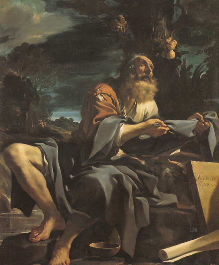 Fig. 9, Giovanni Francesco Barbieri detto Guercino, Elia nutrito dai corvi, 1620, Londra, National Gallery