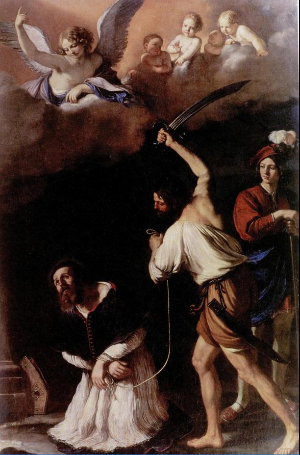 Fig. 14, Giovanni Francesco Barbieri detto Guercino, Decollazione di San Maurelio, 1634, Ferrara, Pinacoteca Nazionale