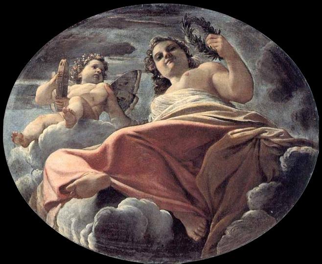 Fig. 1, Annibale Carracci, Flora, 1592 circa, Modena, Galleria Estense