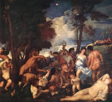Fig. 10, Tiziano, Baccanale degli Andri, 1523–1526, Madrid, Museo del Prado