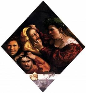 Fig. 1, Dosso Dossi, Ira, 1514-16, Venezia, Fondazione Giorgio Cini