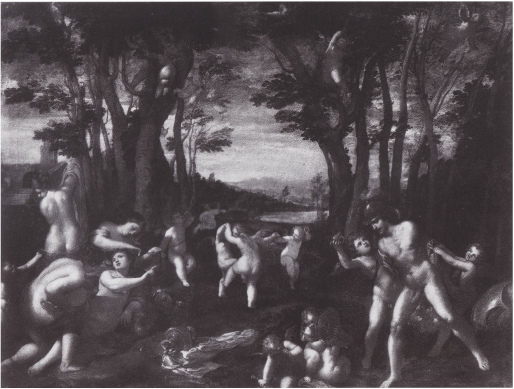 Fig. 17, Ippolito Scarsella detto Scarsellino, Marte e Venere, datazione incerta, ubicazione ignota