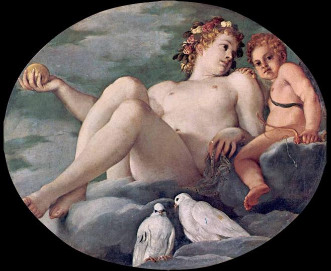 Fig. 2, Annibale Carracci, Venere e Cupido, 1593, Modena, Galleria Estense