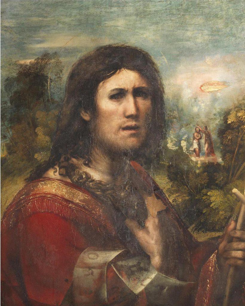 Fig. 13, Dosso Dossi, San Giovanni Battista, 1513-15, Firenze, Galleria Palatina