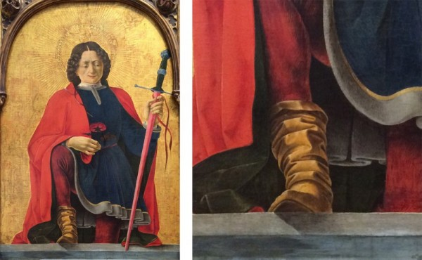 Fig. 4, Francesco del Cossa, San Floriano, Washington, National Gallery of Art