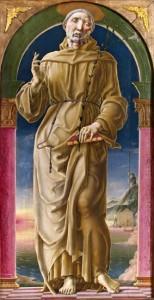 Fig.12, Cosmè Tura, Sant'Antonio da Padova, Modena, Galleria Estense