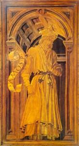 Fig. 26, Antonio Pollaiolo e Giuliano da Maiano, Amos, Firenze, Santa Maria del Fiore, Sacrestia delle Messe