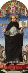 Fig. 7, Francesco del Cossa, San Vincenzo Ferrer, Londra, National Gallery