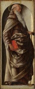 Fig. 8, Ercole de' Roberti, Sant'Antonio Abate, Rotterdam, Museum Boymans-Van Beuningen