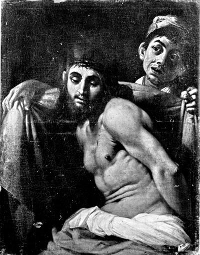 Giovanni Baglione (qui attribuito), Ecce Homo, Ferrara, Pinacoteca Nazionale