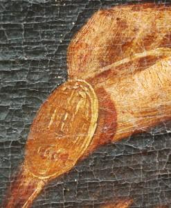 Fig. 2, Giovanni Baglione, Ecce Homo, Ferrara, Pinacoteca Nazionale, particolare