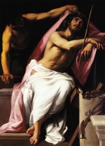 Giovanni Baglione, Cristo in meditazione sulla Passione, 1606, Roma, Galleria Borghese