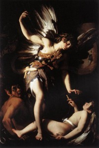 Giovanni Baglione, Amor sacro e Amor profano, Roma, Galleria Nazionale di Arte Antica di Palazzo Barberini