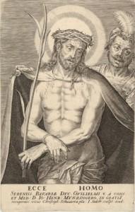 Jan Sadeler I, Ecce Homo (incisione)