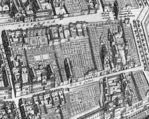 Fig. 16, Andrea Bolzoni, Pianta ed alzato della città di Ferrara…, 1782, Ferrara, Musei di Arte Antica