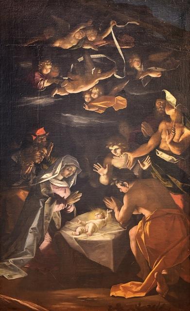 Fig. 1, Gaspare Venturini (qui attribuito, Adorazione dei pastori, data*, Grassobbio (BG), Sant'Alessandro
