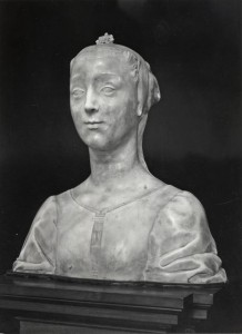 Fig. 11, Desiderio da Settignano, Ritratto di giovinetta (Marietta Strozzi?), 1460 ca., Firenze, Museo del Bargello