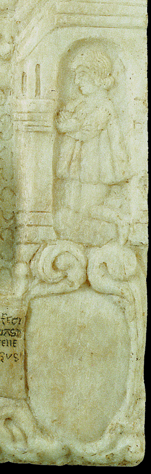 Fig. 4, Antonio di Pietro, Figura maschile inginocchiata, particolare di fig. 1