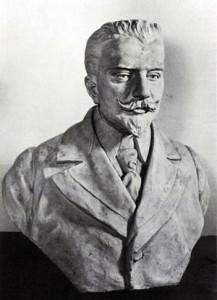 Fig. 12, Giovan Battista Longanesi, Busto di Acquirino Pinza, 1926, Comacchio (Fe), Collezione Comunale d'Arte di Palazzo Bellini