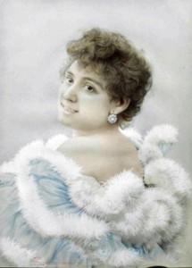 Fig. 6, Giovan Battista Longanesi, Ritratto femminile (la signora Ricci-Pavanelli ?), 1898, Ferrara, collezione Scardino