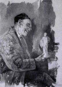 Fig. 7, Giovan Battista Longanesi, L'antiquario, 1912 circa, Torino, collezione Magri