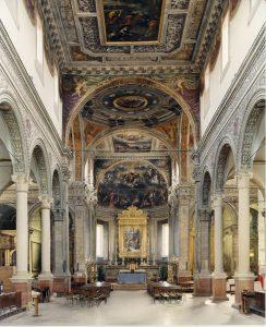 Fig. 2, L'interno della chiesa di Santa Maria in Vado