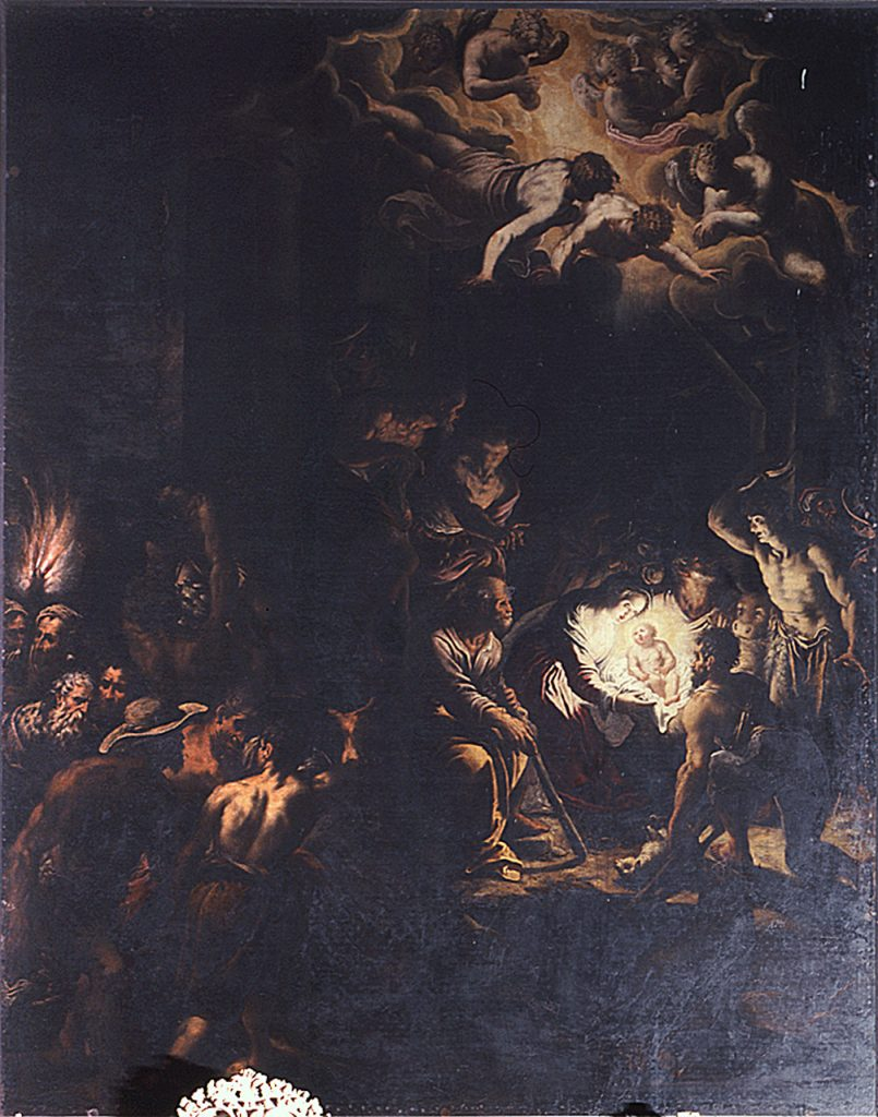 Fig. 5, Domenico Mona, Natività di Cristo, 1580, Santa Maria in Vado