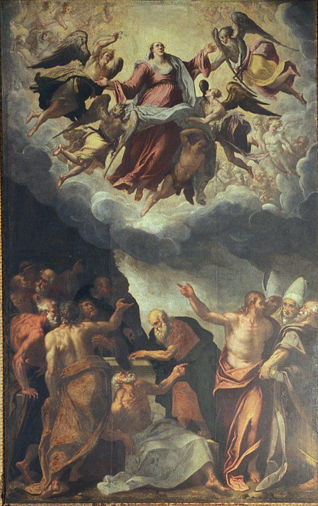 Fig. 6, Domenico Mona, Assunzione di Maria Vergine, 1580-81, Santa Maria in Vado