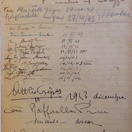 Piccoli e grandisabotaggi: un giorno di ottobre del 1943 a Casa Ariosto