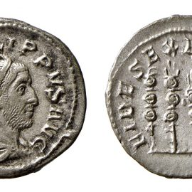 Monetazioneromana tra Gordiano III (238-244 d.C.) e Treboniano Gallo (251-253 d.C.) nelle civiche collezioni di Ferrara