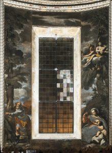 Fig. 8, Carlo Bononi e bottega, Riposo, 1623-24, Ferrara, Santa Maria in Vado, presbiterio.