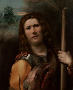 Fig. 14 - Dosso Dossi, San Giorgio, 1513-15, Los Angeles, J. Paul Getty Museum
