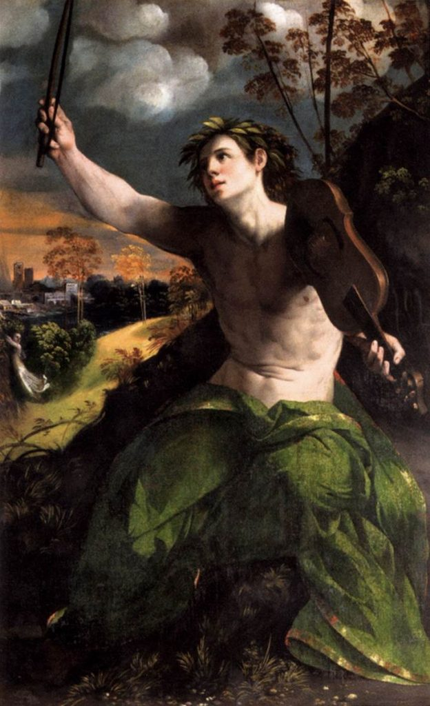 Fig. 18 - Dosso Dossi, Apollo, 1524, Roma, Galleria Borghese