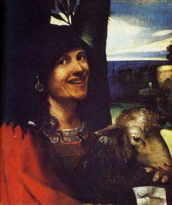 Fig. 5 - Dosso Dossi, Buffone, 1510 ca., Modena, Galleria Estense