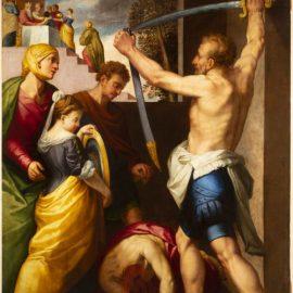 """Un dipinto """"ritrovato"""": storia (e qualche ipotesi) della Decollazione del Battista di Bastarolo"""
