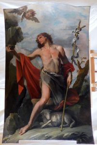 Fig. 4, L'opera di Parolini al termine delle integrazioni pittoriche