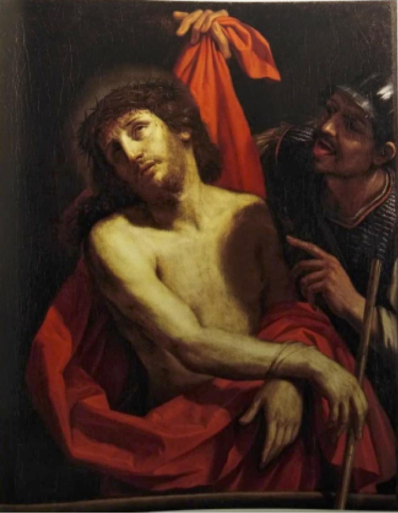 Fig. 3 - Cesare Gennari, Cristo deriso, post 1668, già Bologna, Gallerie Gilberto Algranti, vendita 18 marzo 1989, n. 82